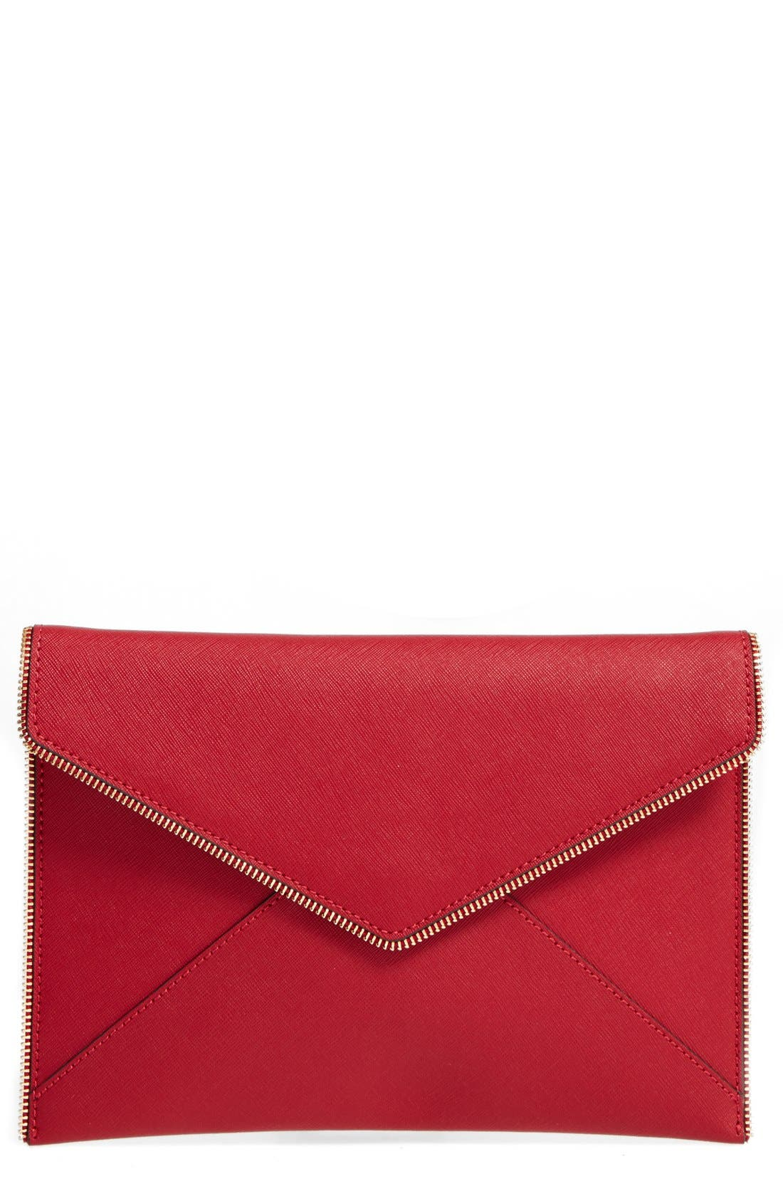 ,                             Leo Envelope Clutch,                             Main thumbnail 261, color,                             644