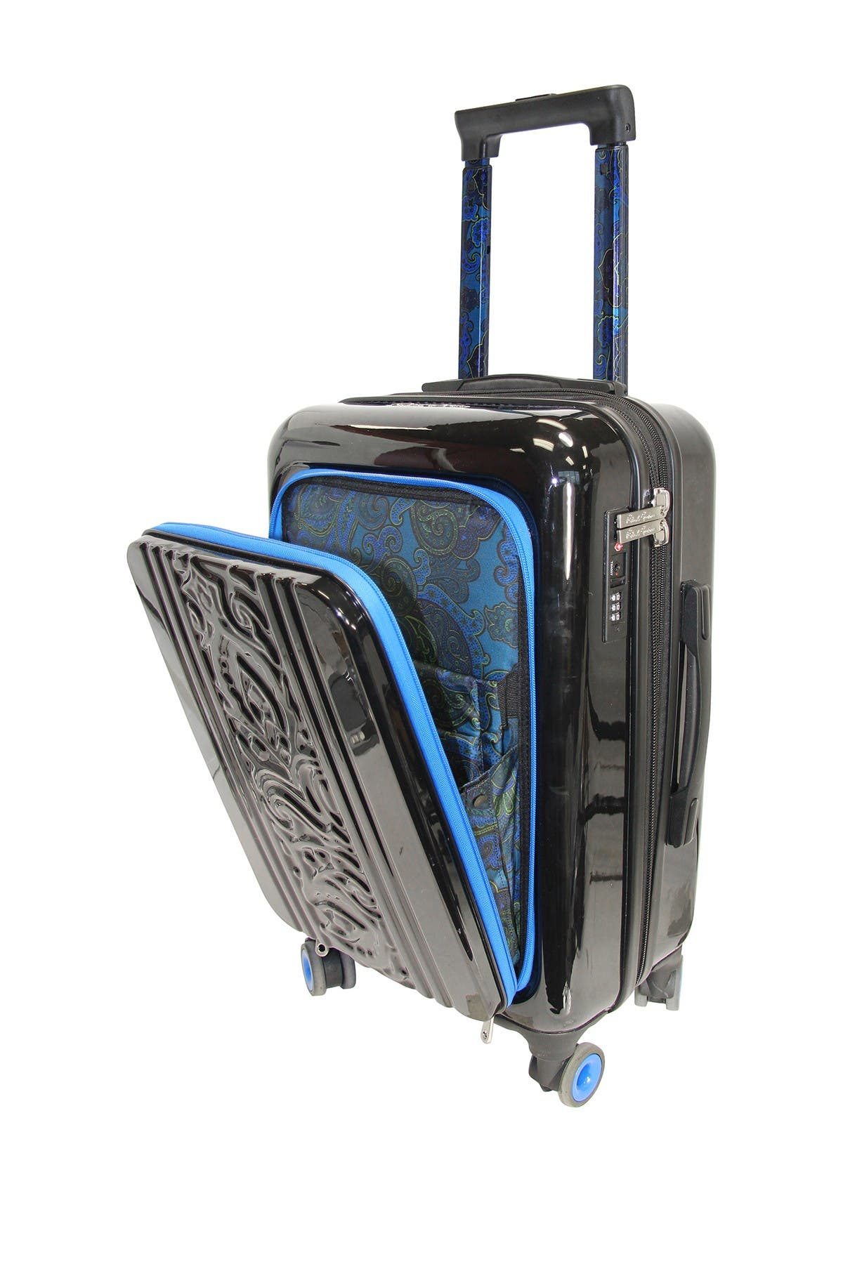"""Image of Robert Graham Straton 20"""" Carry-On Spinner Suitcase"""