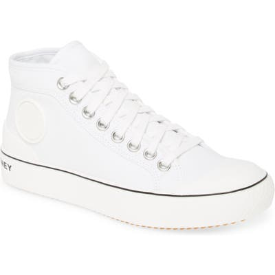 Stella Mccartney High Top Sneaker, White