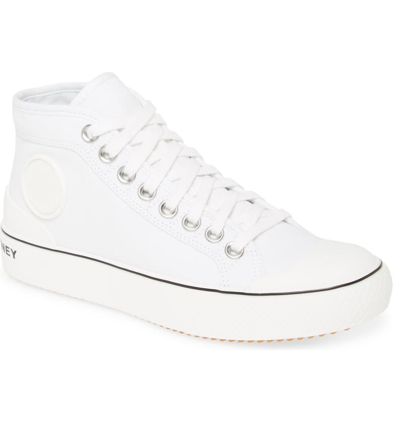 STELLA MCCARTNEY High Top Sneaker, Main, color, WHITE
