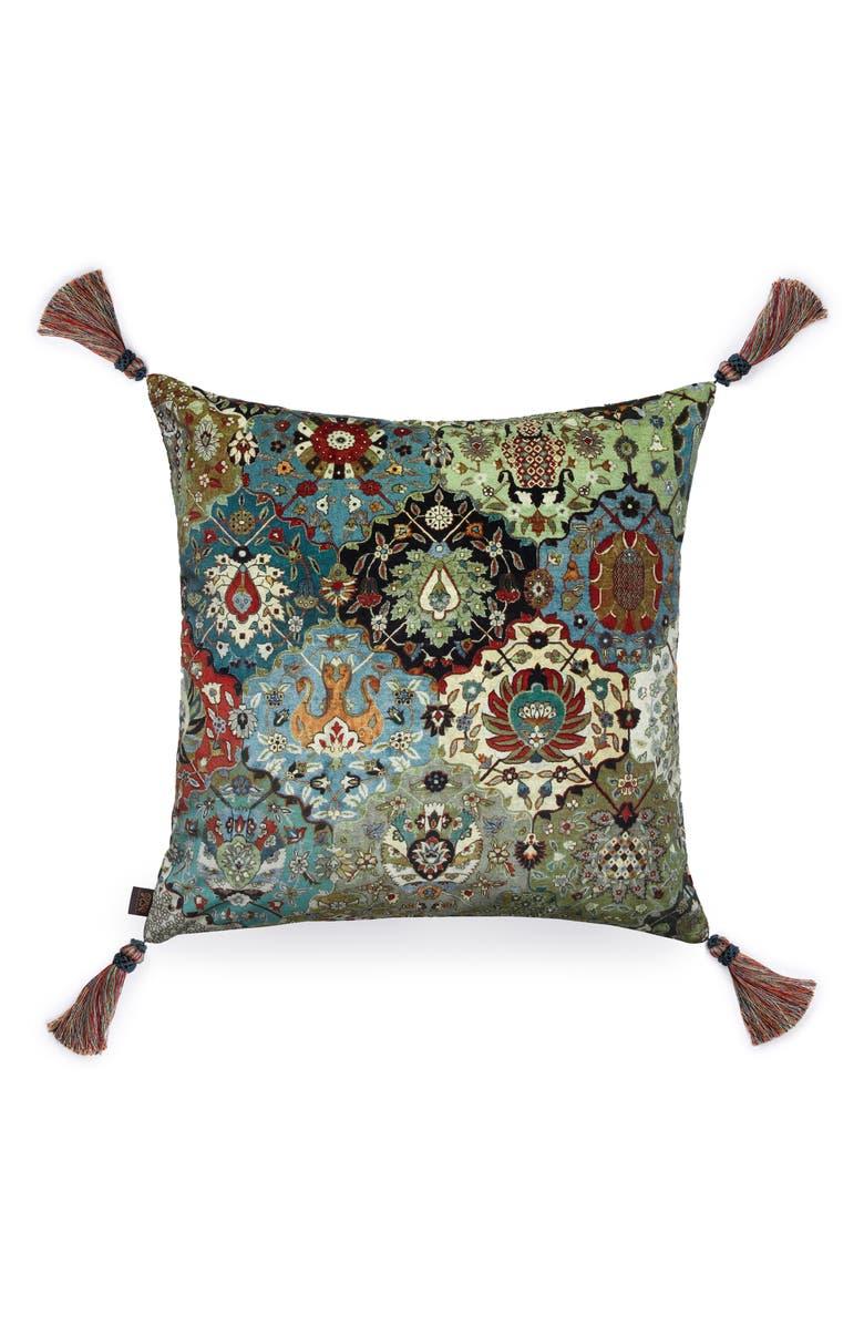 HOUSE OF HACKNEY Caspar Velveteen Accent Pillow, Main, color, MULTI
