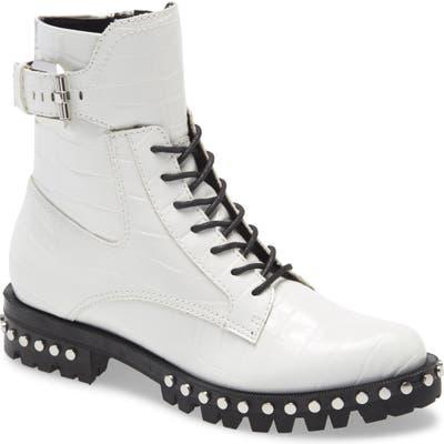 Dolce Vita Prest Lace-Up Boot, White
