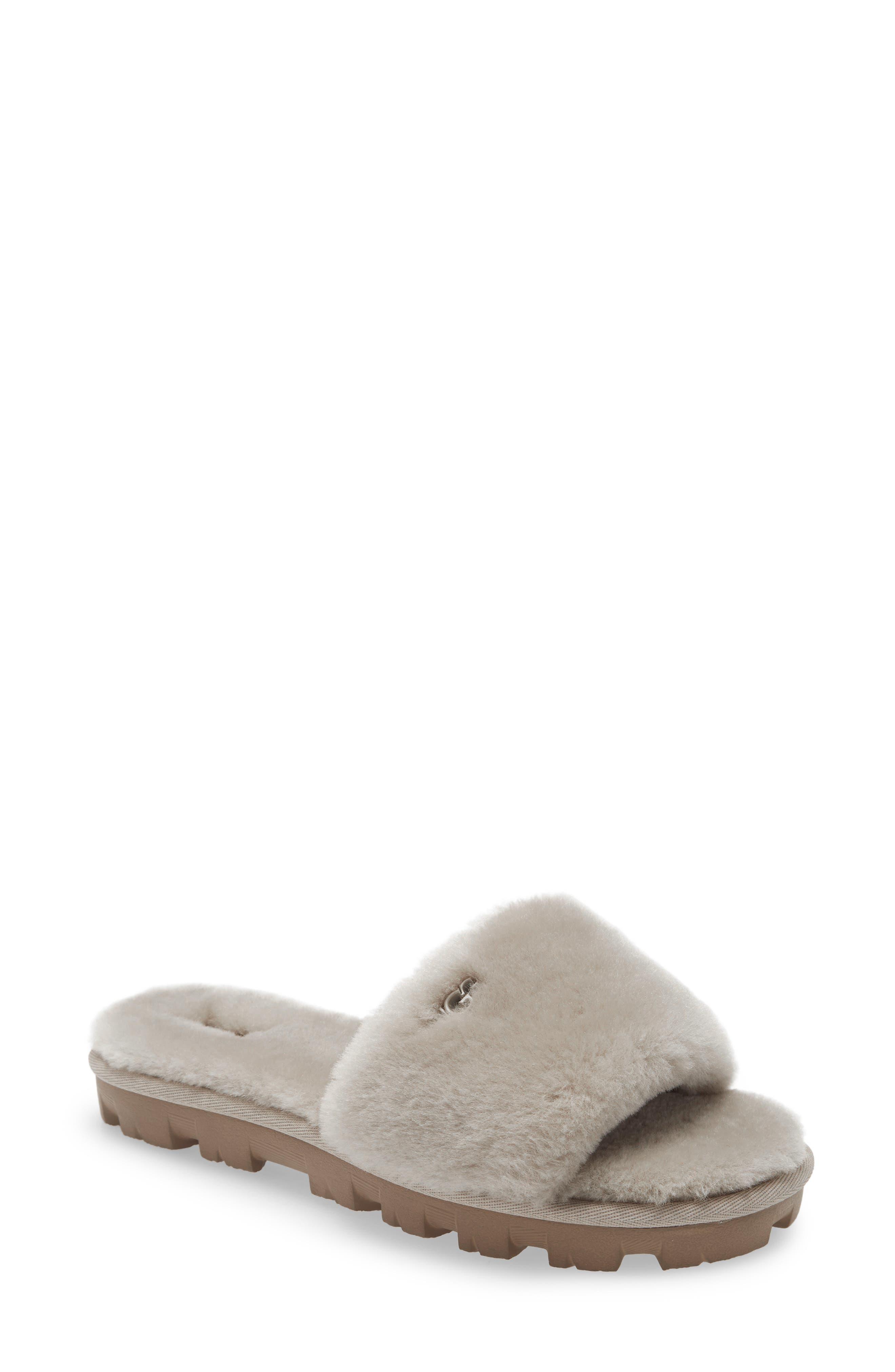 UGG® Cozette Genuine Shearling Slipper