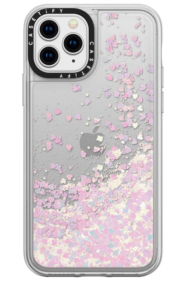 CASETIFY Glitter iPhone 11/11 Pro/11 Pro Max Case, Main, color, UNICORN GLITTER