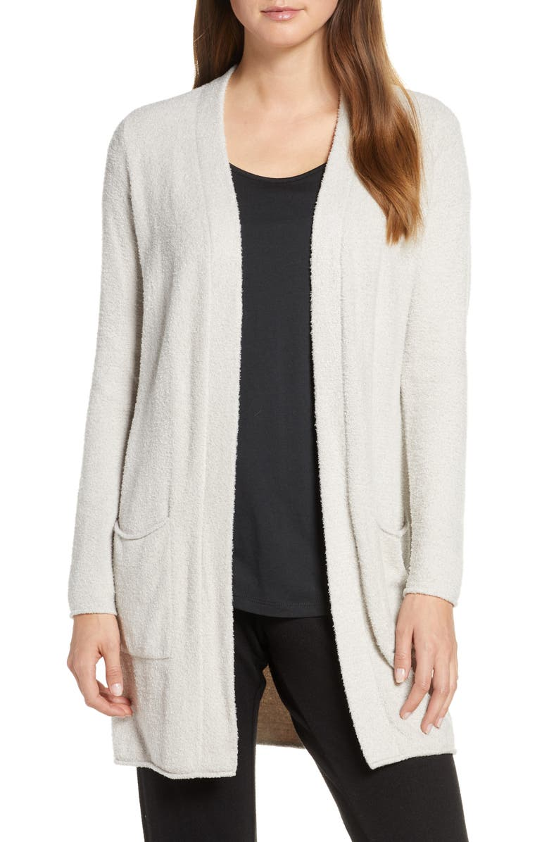 "CozyChic<sup>â""¢</sup> Lite Long Cardigan, Main, color, SILVER"