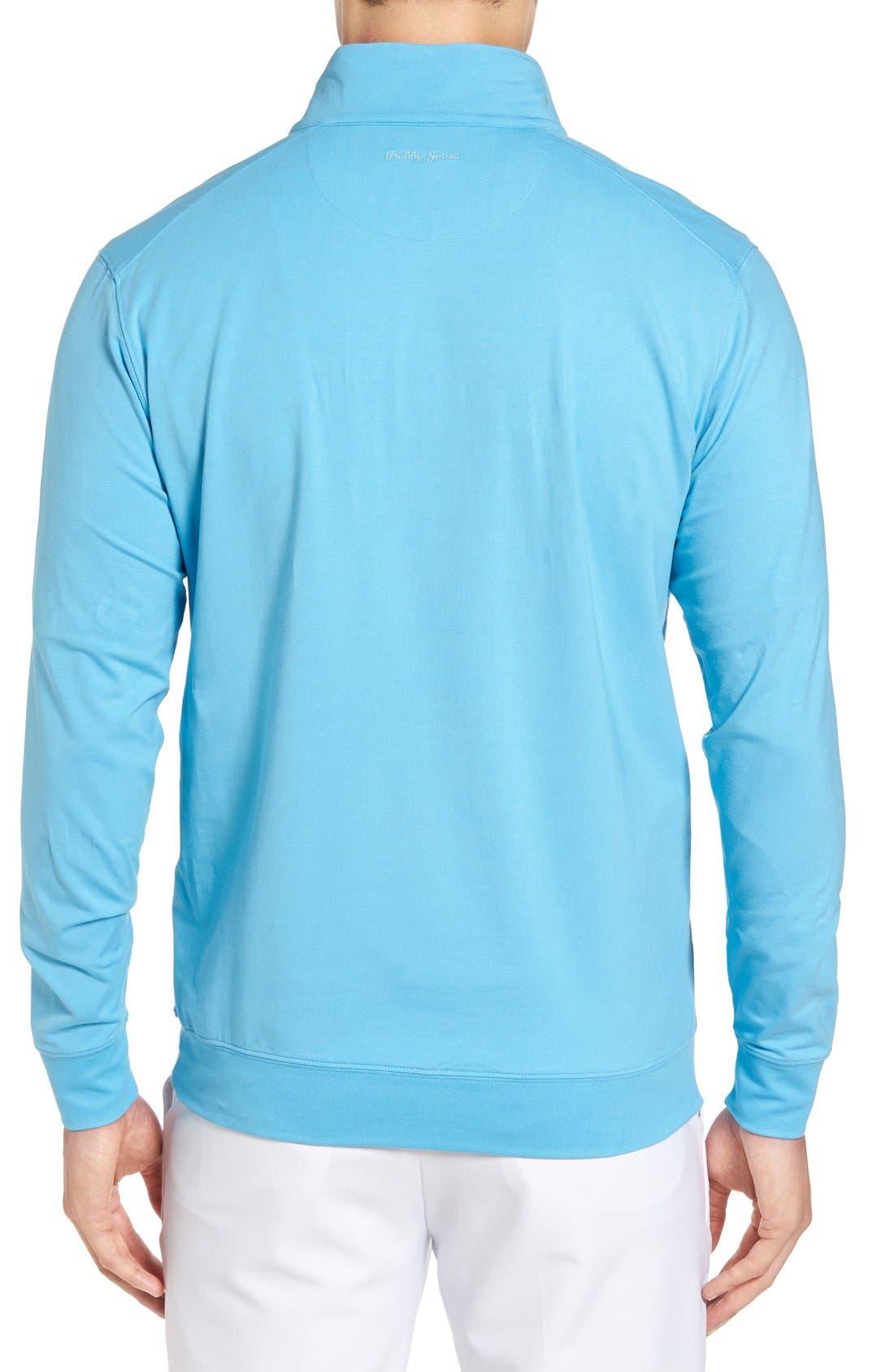 ,                             PTO Liquid Stretch Quarter Zip Pullover,                             Alternate thumbnail 44, color,                             402