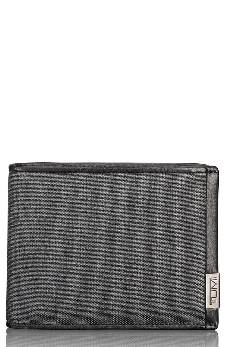 TUMI Alpha Global Pass Case Wallet, Main, color, 020