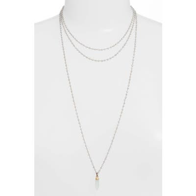Mend Long Rosary Necklace