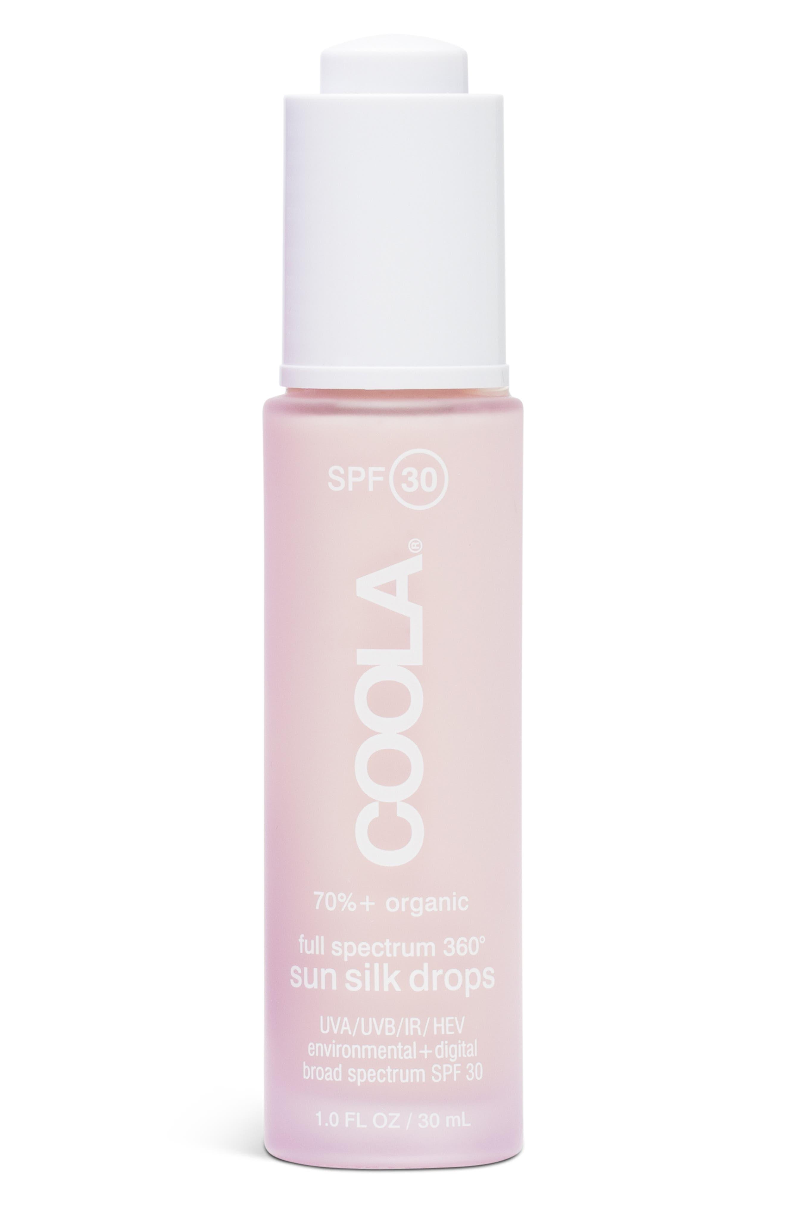 ,                             COOLA<sup>®</sup> Suncare Full Spectrum 360 Sun Silk Drops SPF 30,                             Main thumbnail 1, color,                             NO COLOR