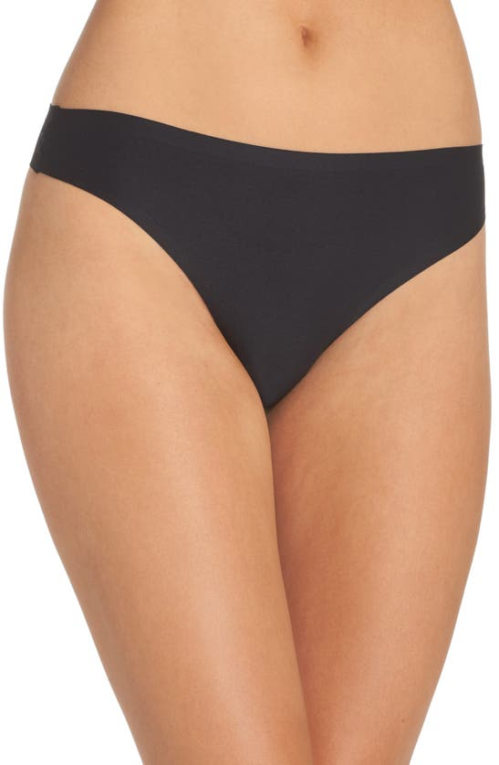 Chantelle Lingerie Soft Stretch Thong In Black