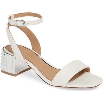 Linea Paolo Hilda Statement Heel Sandal- White