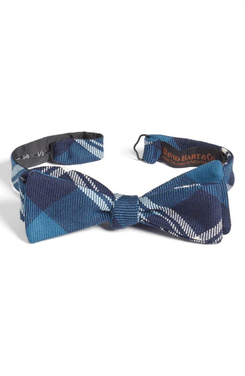 DAVID HART Wool Bow Tie, Main, color, 400