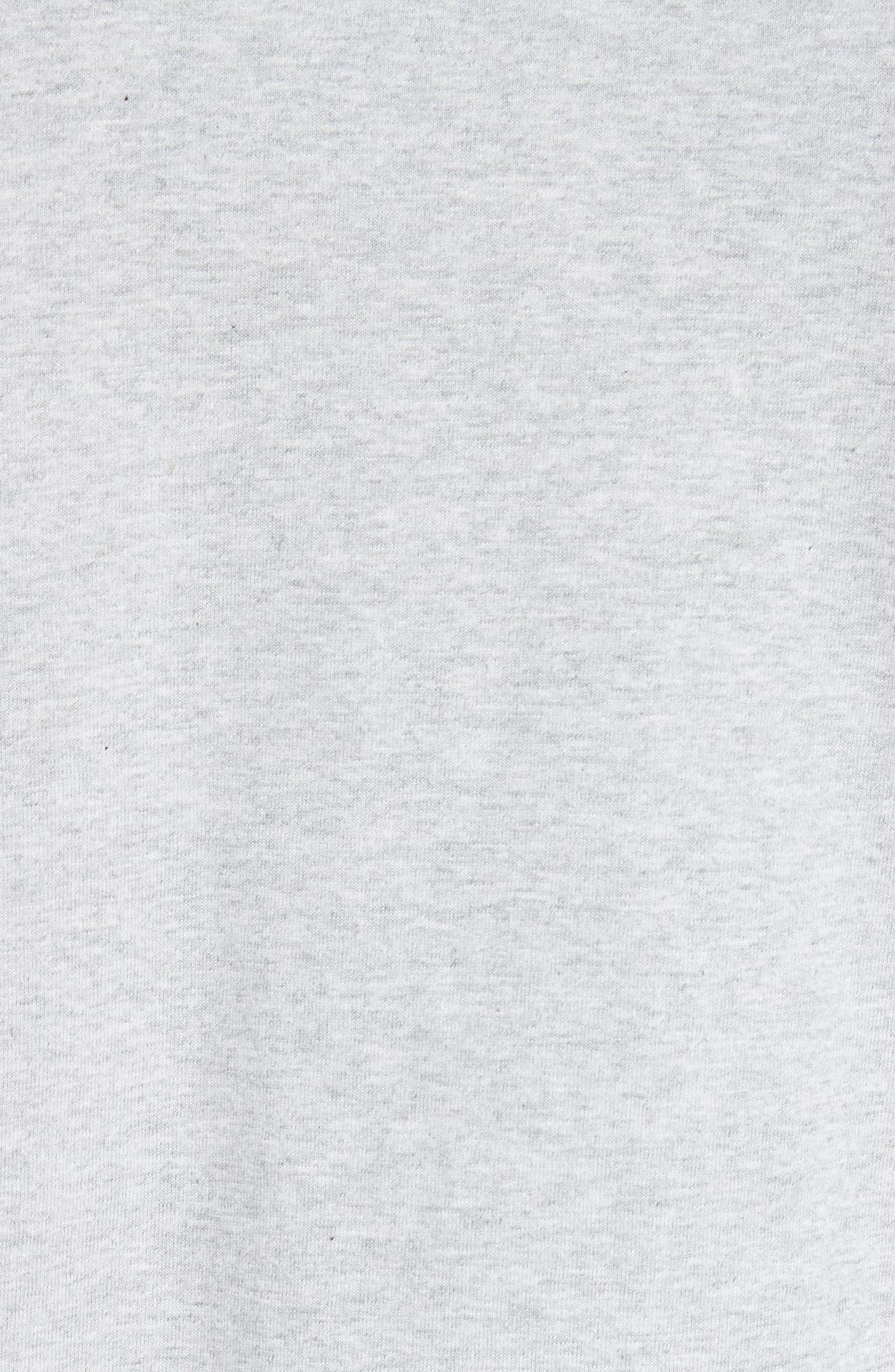 ,                             Niels Crewneck T-Shirt,                             Alternate thumbnail 5, color,                             LIGHT GREY MELANGE