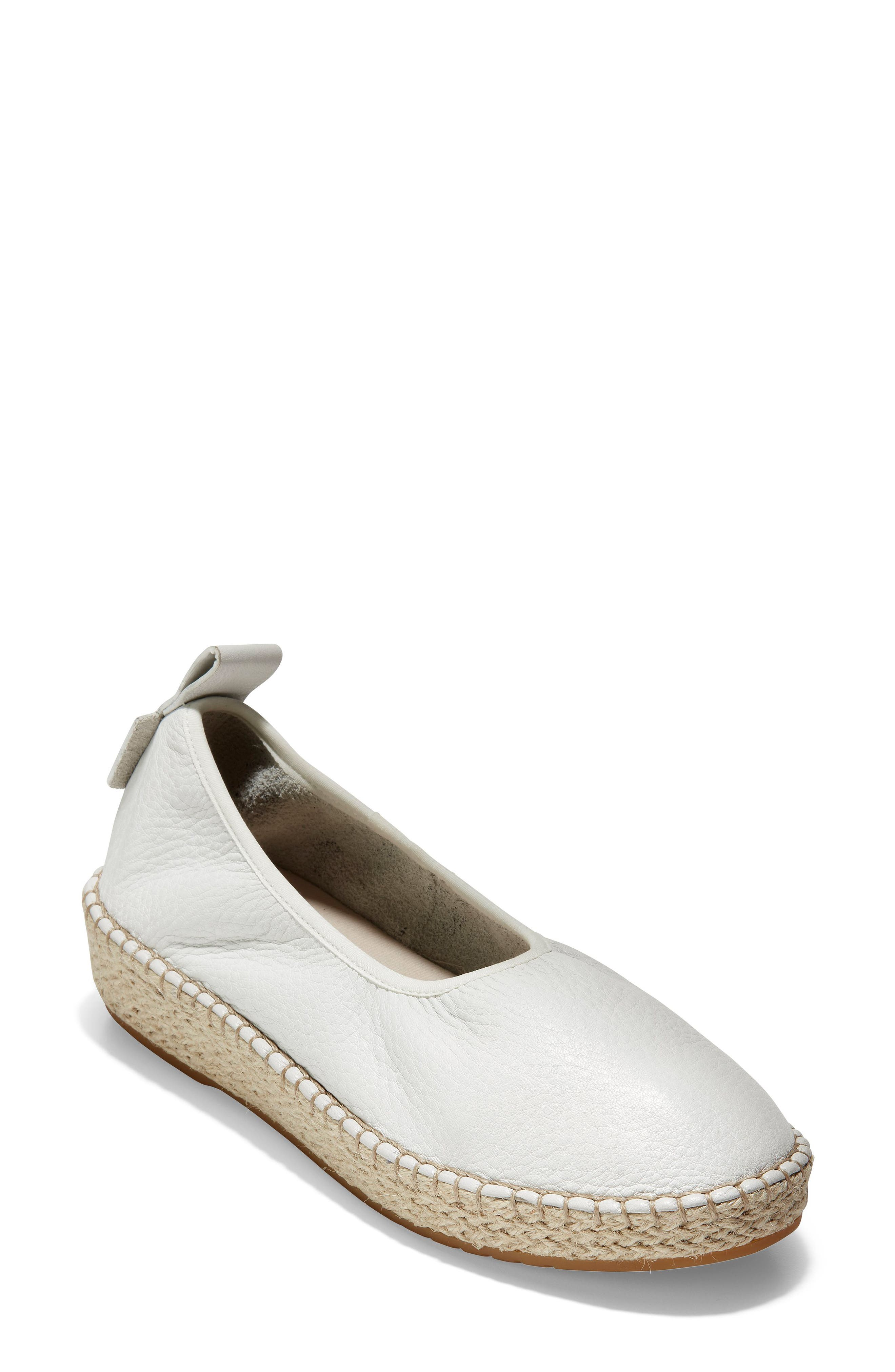 Cole Haan Cloudfeel Espadrille B - White