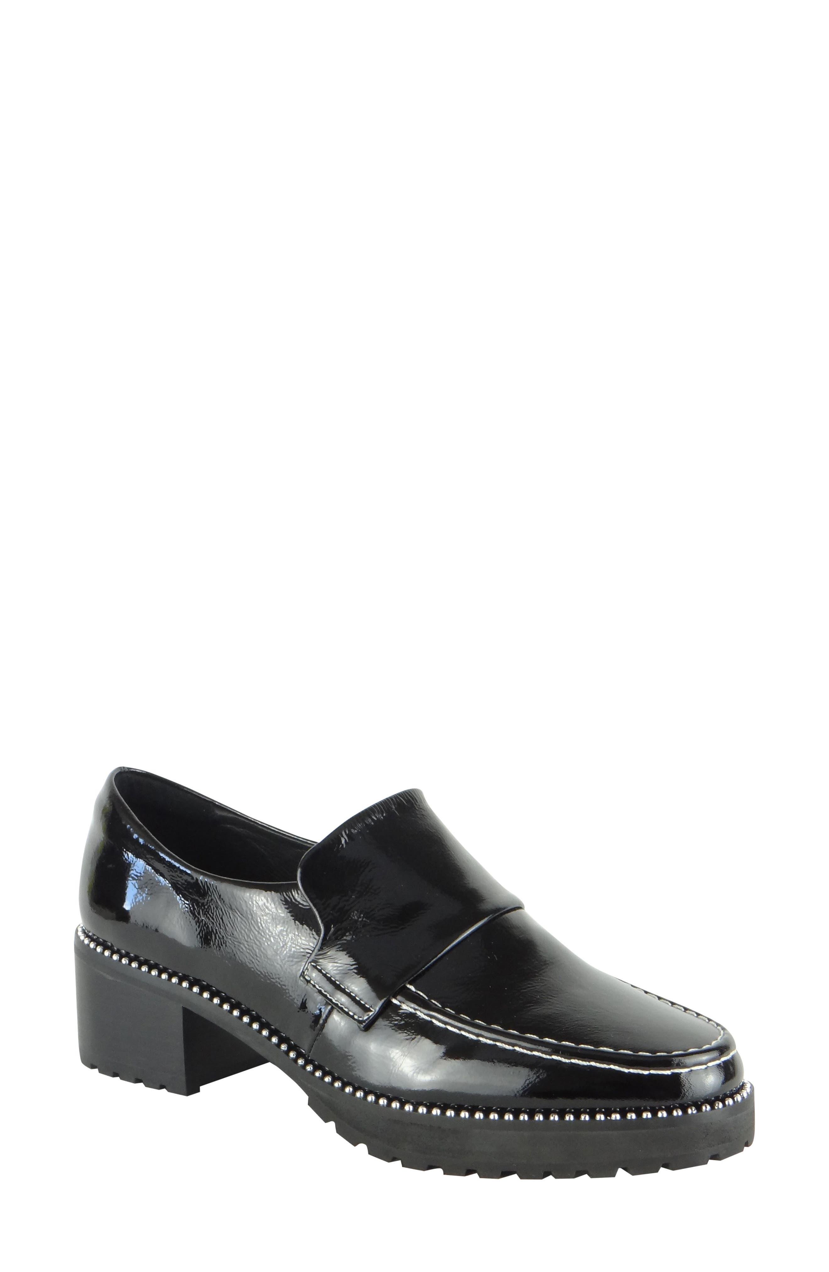 Selina Block Heel Loafer