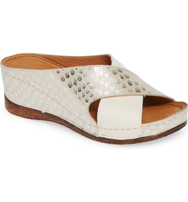 SHERIDAN MIA Koko Slide Sandal, Main, color, BEIGE LEATHER