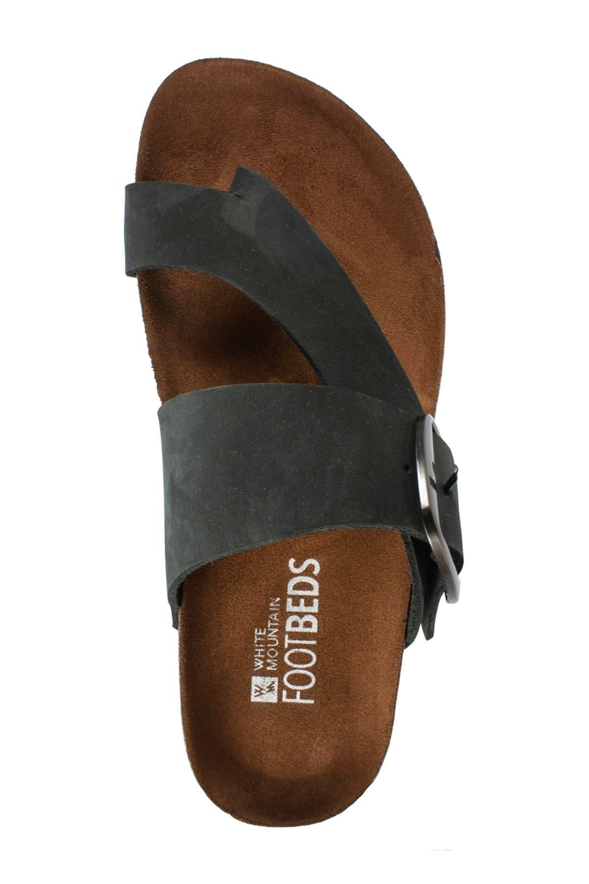 Harley Buckled Footbed Sandal