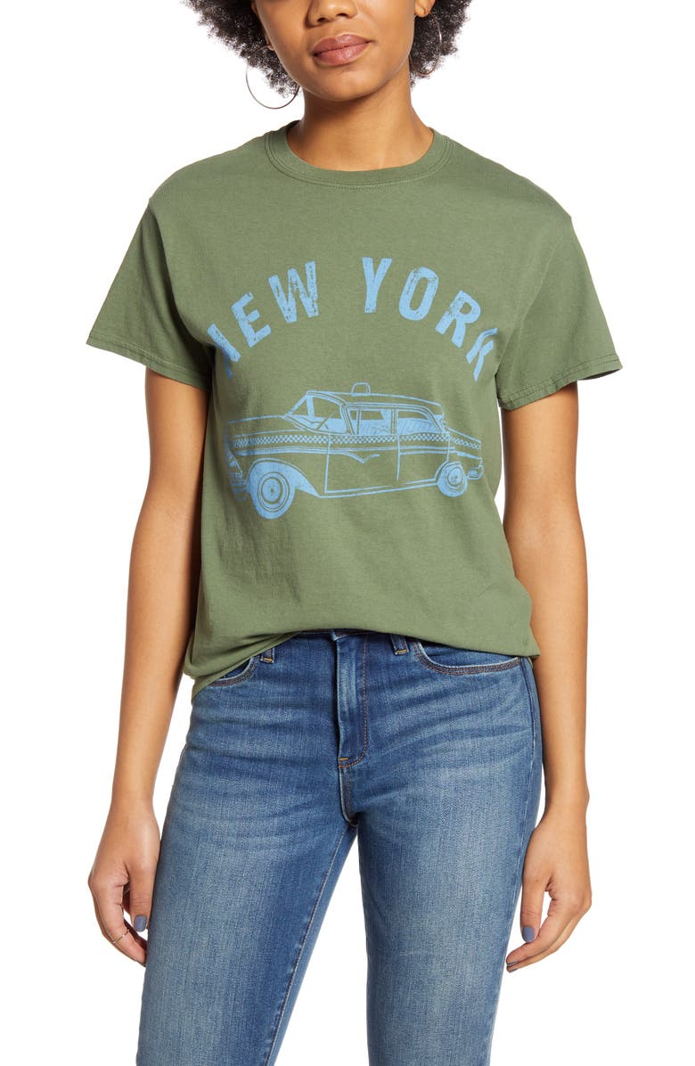 VINYL ICONS New York Taxicab Graphic Tee, Main, color, 300