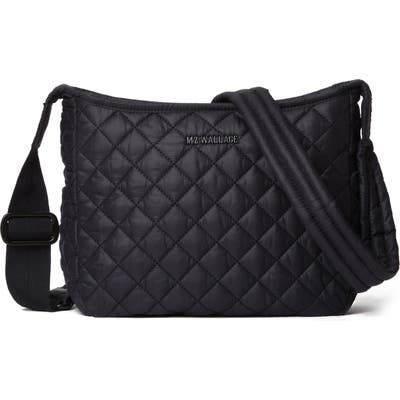 Mz Wallace Small Parker Quilted Nylon Crossbody Bag - Black