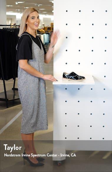 Francine Laceless Slip-On Oxford, sales video thumbnail