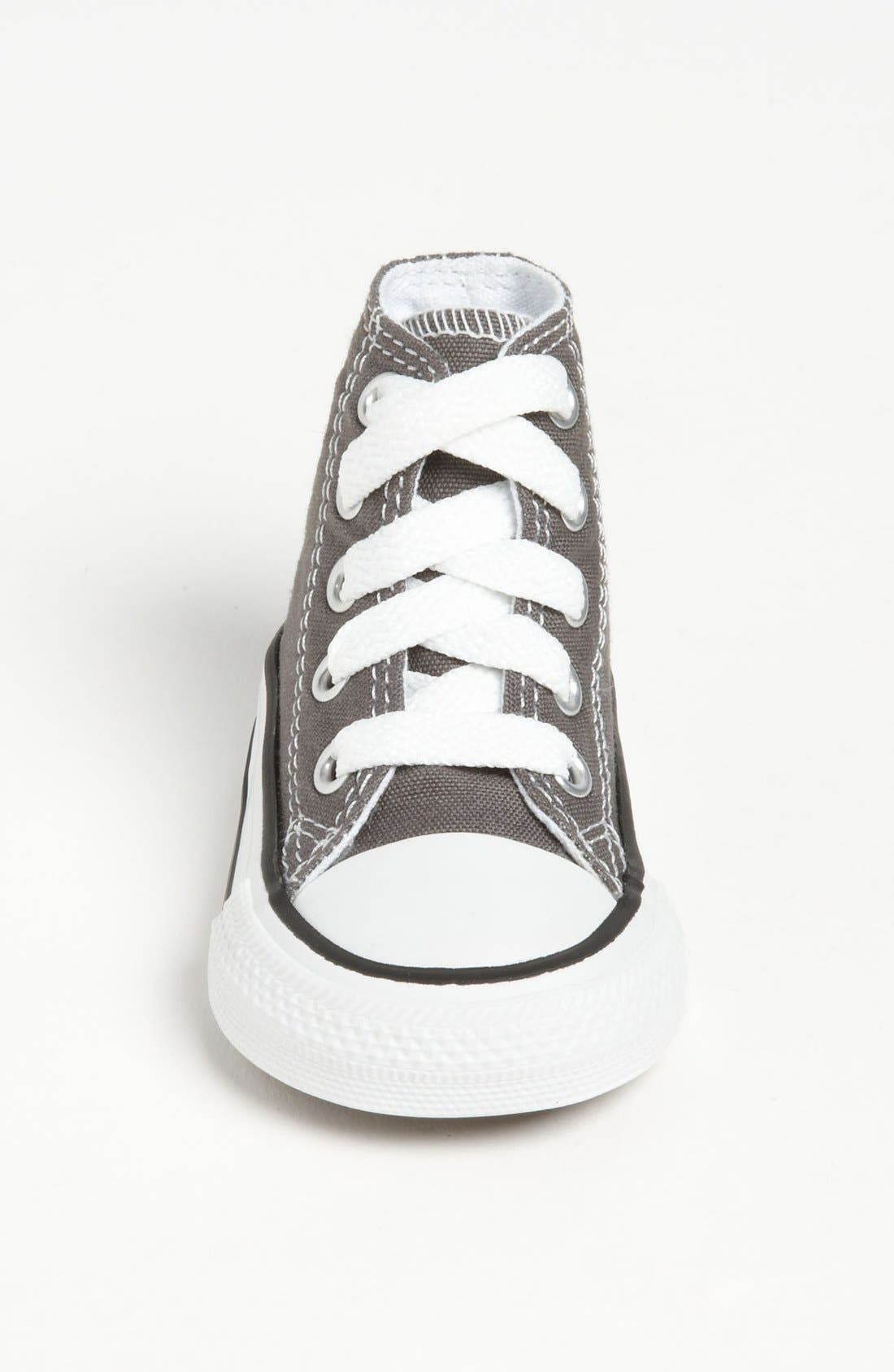 ,                             All Star<sup>®</sup> High Top Sneaker,                             Alternate thumbnail 3, color,                             CHARCOAL
