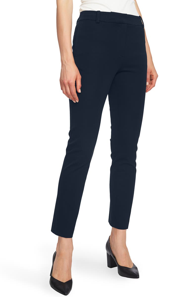 1.STATE Stretch Twill Slim Ankle Pants, Main, color, BLUE NIGHT