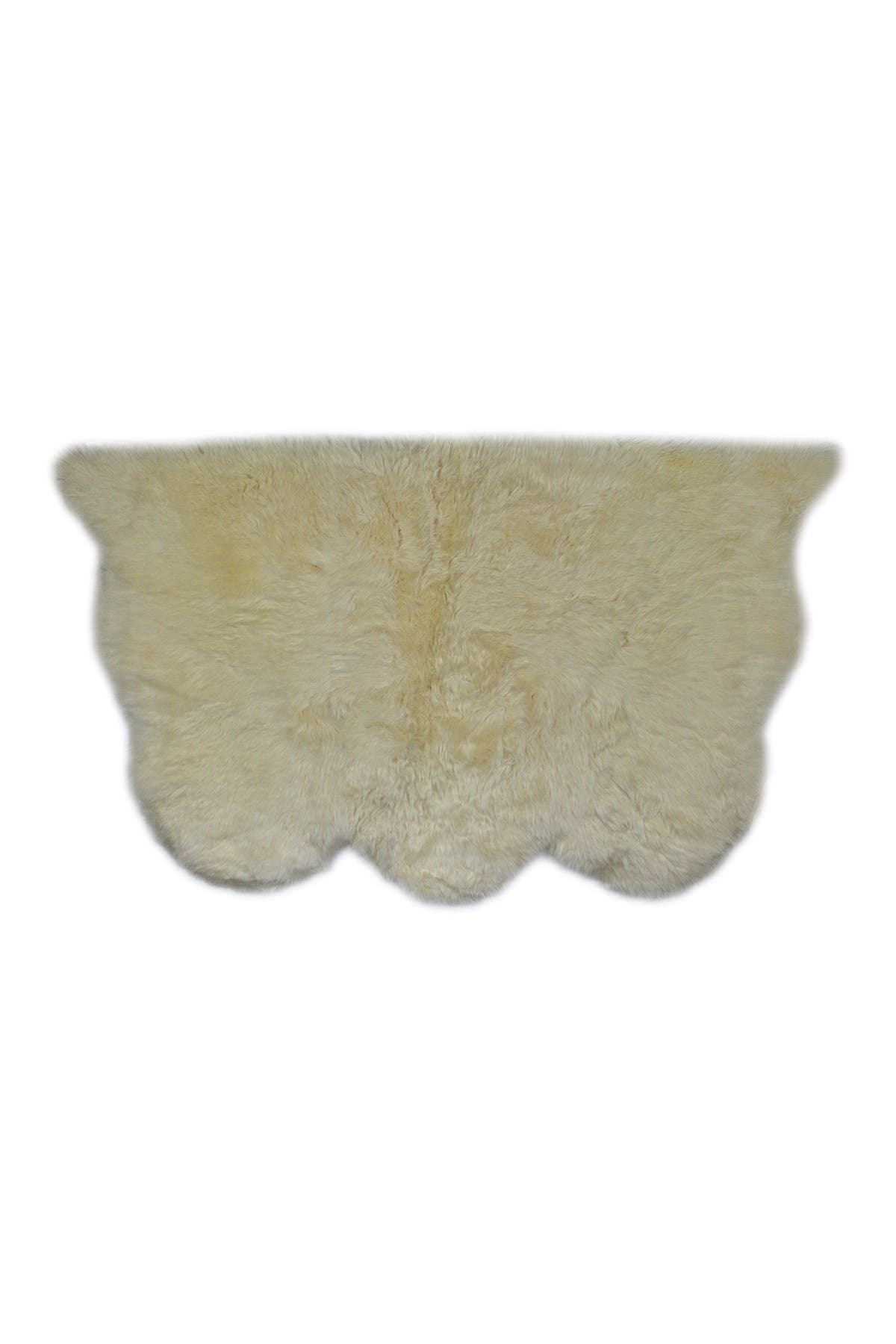 Image of Natural New Zealand Triple Sheepskin Throw - 3ft X 5ft - Gold