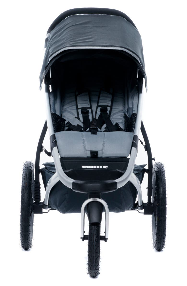 THULE Urban Glide Jogging Stroller with Snack Tray & Cup Holder Console, Main, color, 001