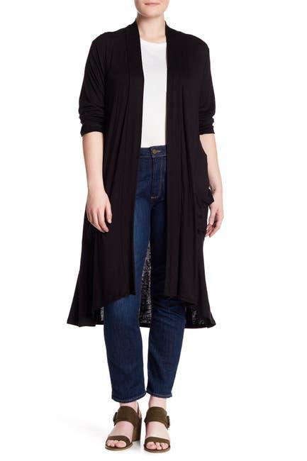 Image of Bobeau Long Sleeve Knit Cardigan