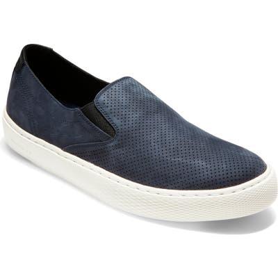 Cole Haan Grandpro Deck Slip-On, Blue