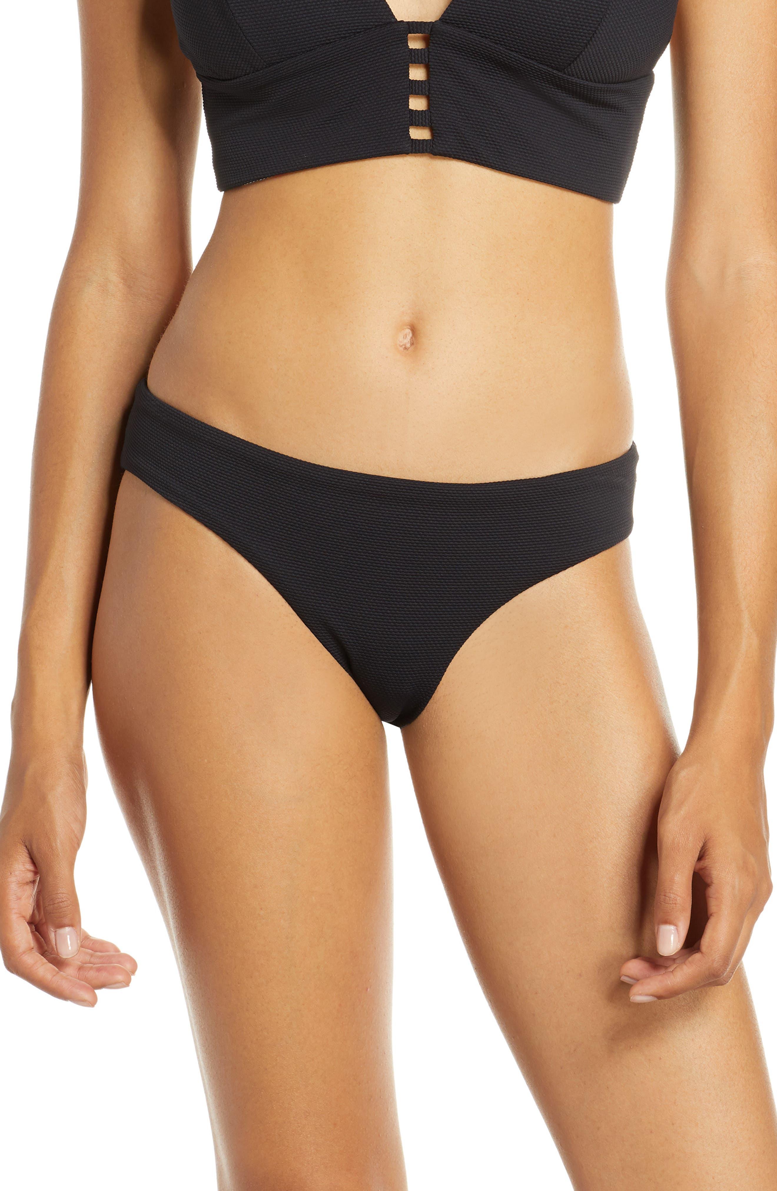 Maaji Sublime Signature Reversible Bikini Bottoms, Black