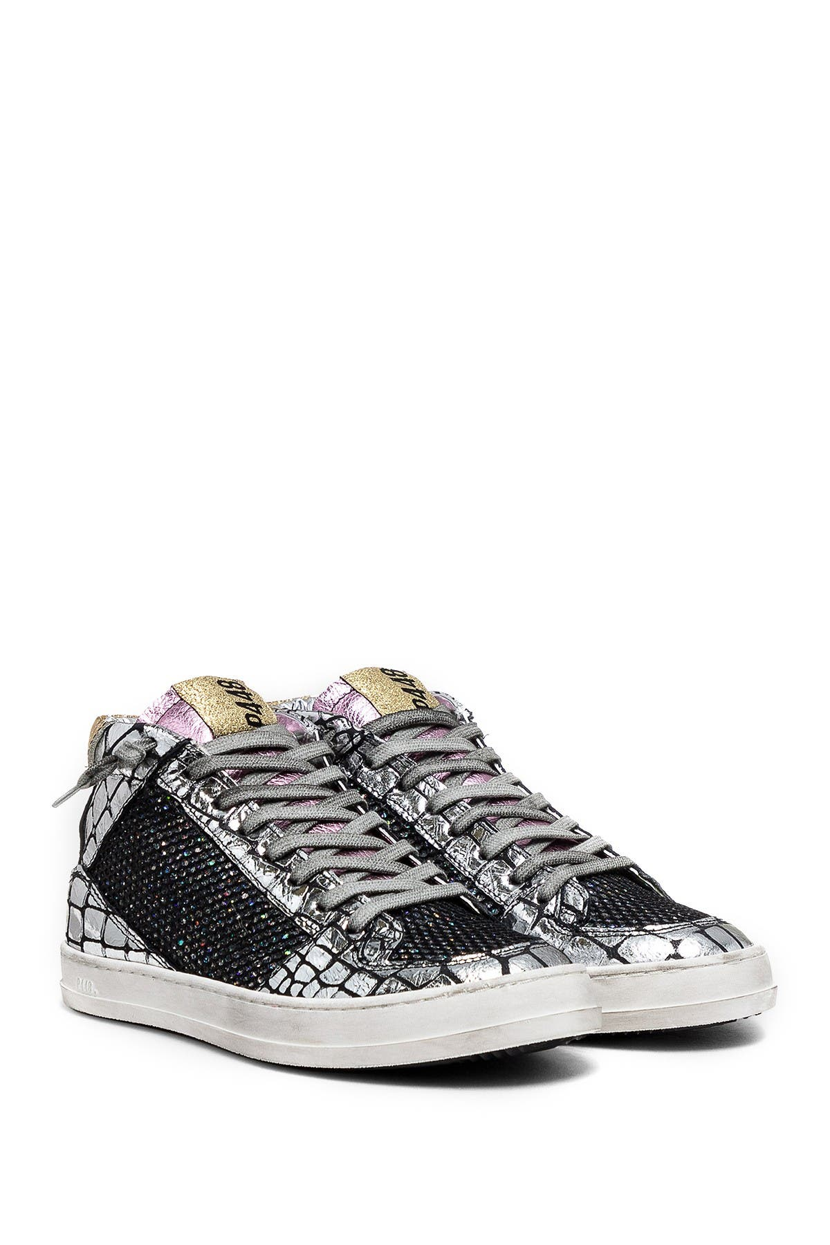 P448 | Queens Printed Leather Mid