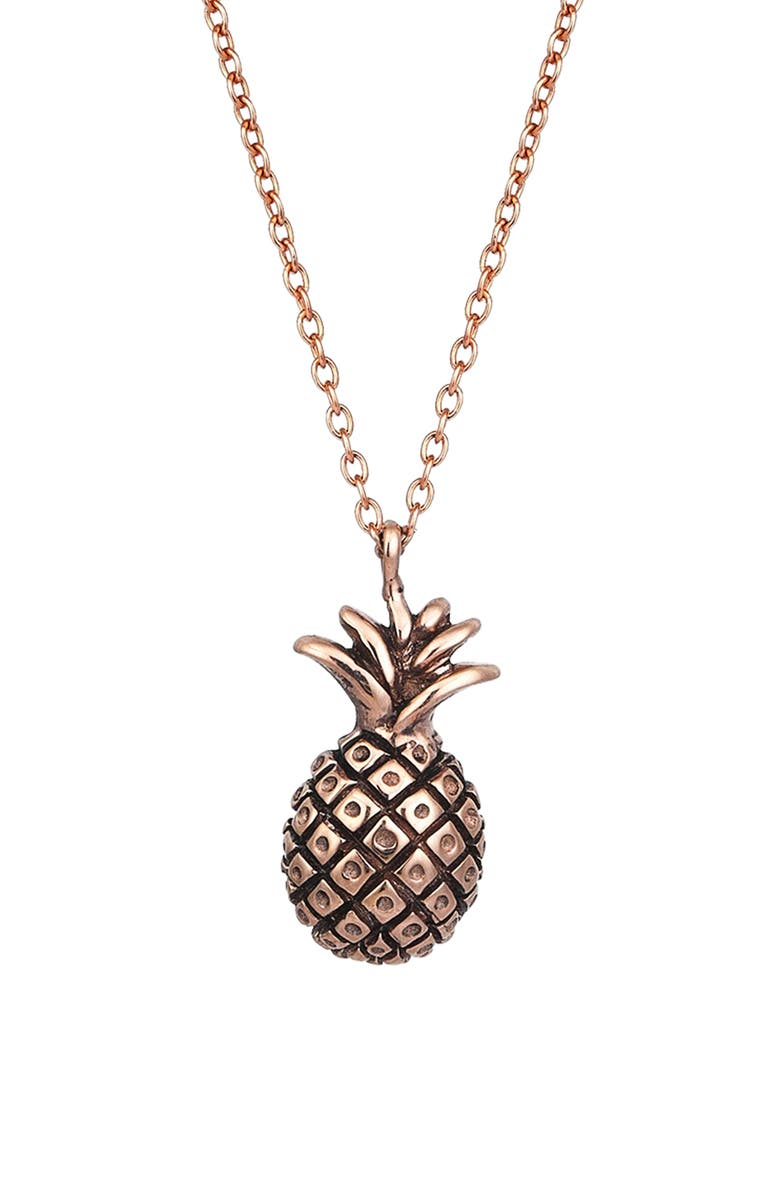 Kismet By Milka Baby Pineapple Pendant Necklace