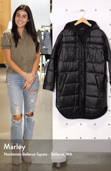 Beck Quilted Coat, sales video thumbnail