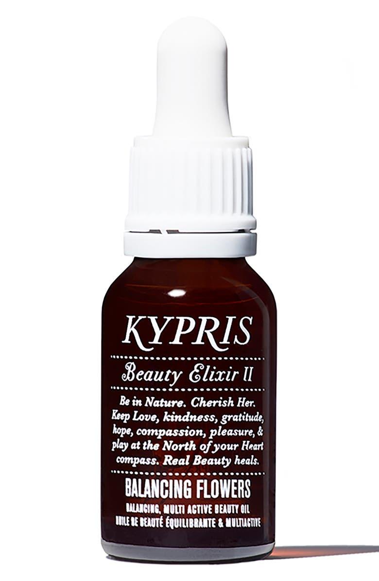 KYPRIS Beauty Beauty Elixir II: Balancing Flowers Moisturizing Face Oil, Main, color, NO COLOR