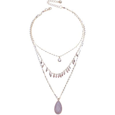 Nakamol Design 3-Layer Teardrop Necklace