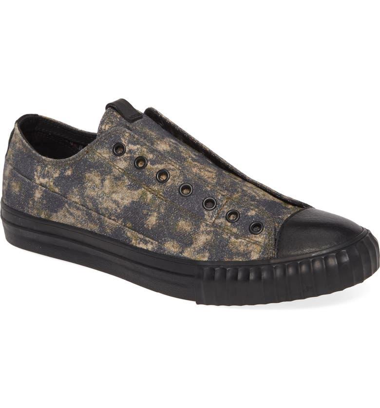 JOHN VARVATOS STAR USA Camo Sneaker, Main, color, ARMY GREEN
