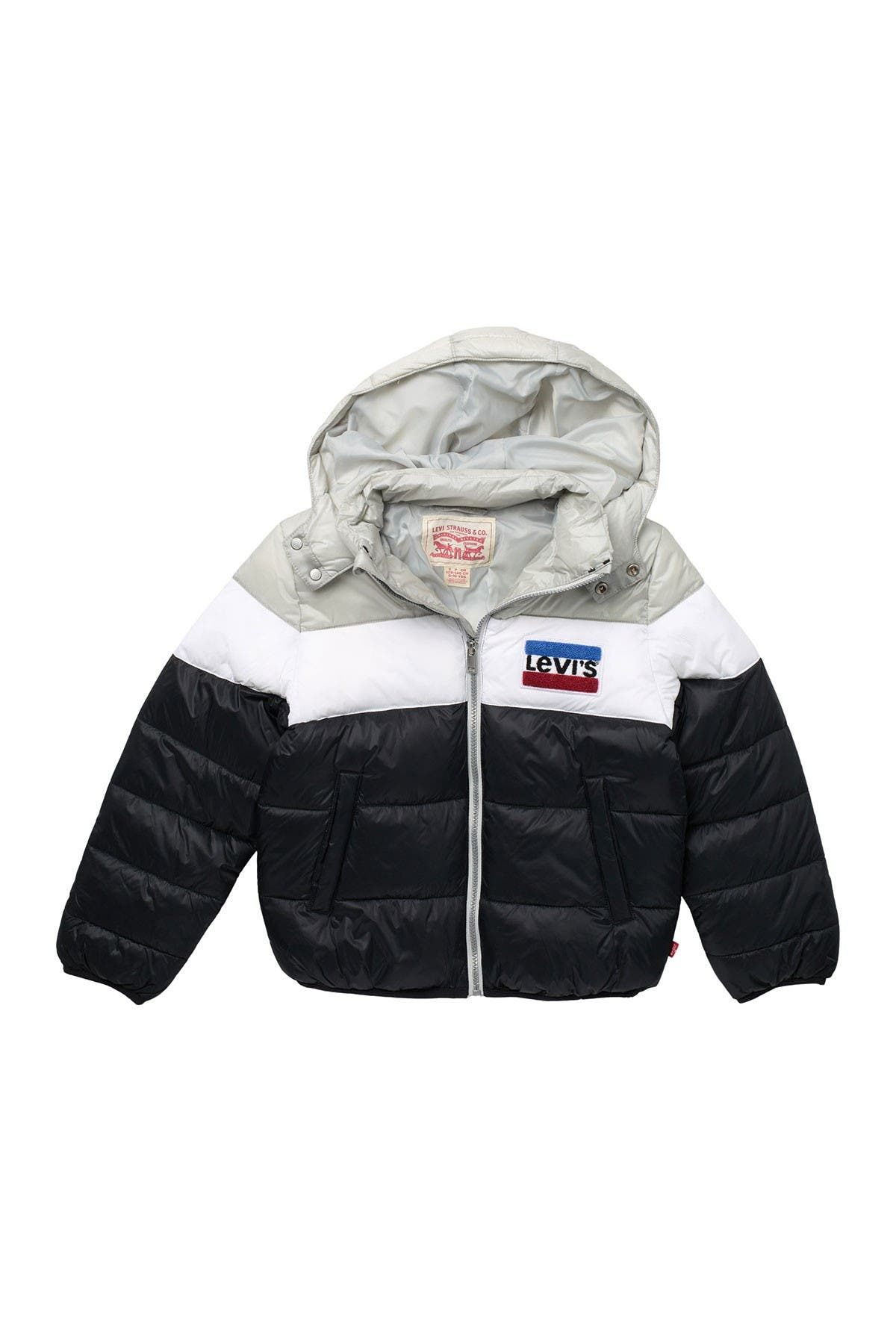 Image of Levi's Chenille Patch Puffer Jacket