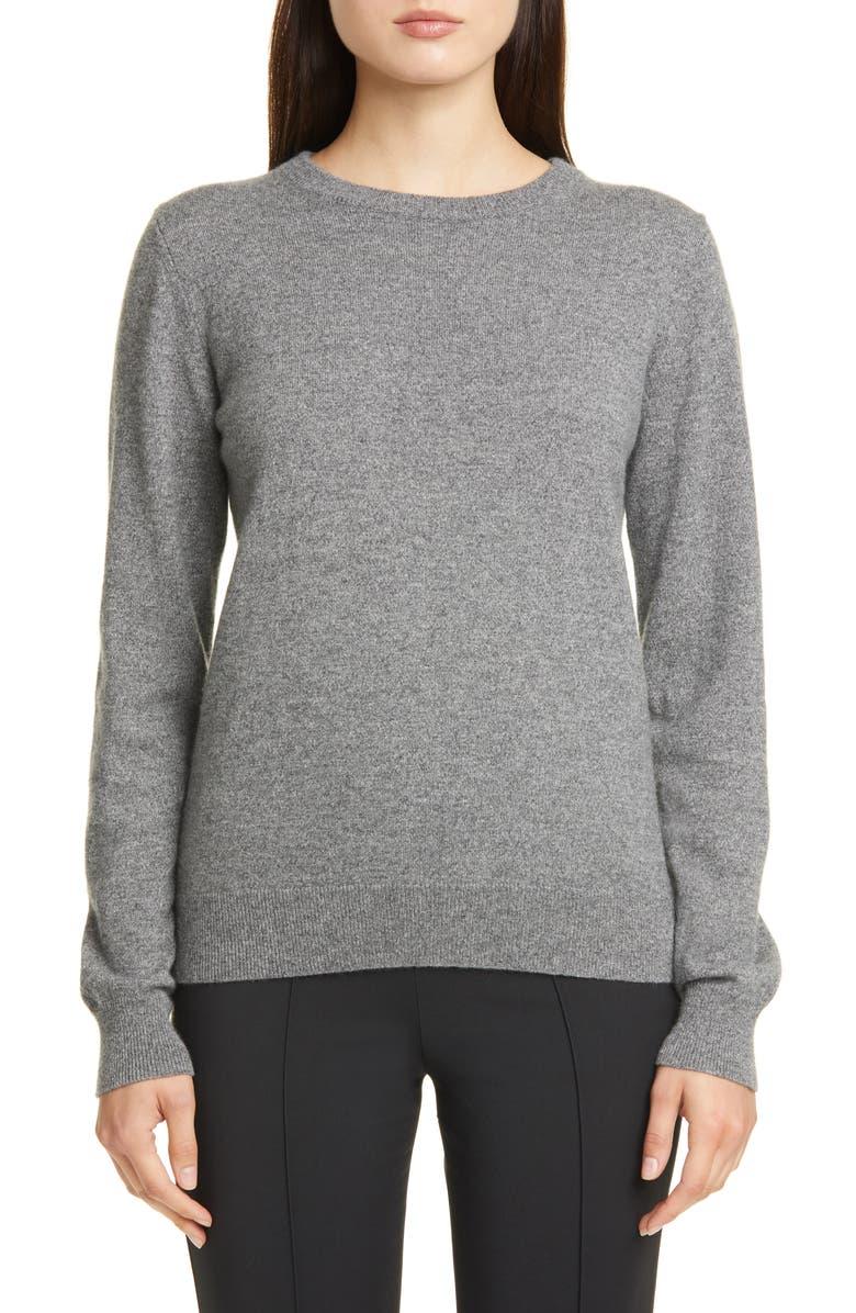 A.P.C. Nola Cashmere Sweater, Main, color, GRIS