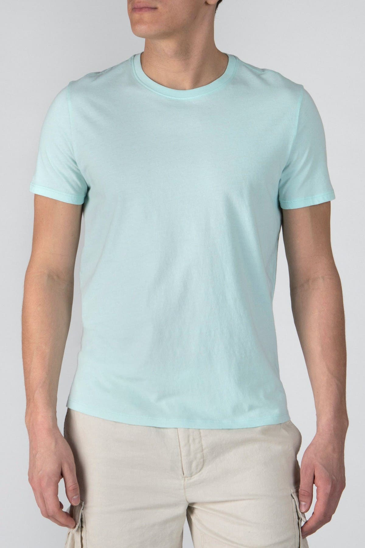 Image of ATM Anthony Thomas Melillo Cotton Crewneck T-Shirt