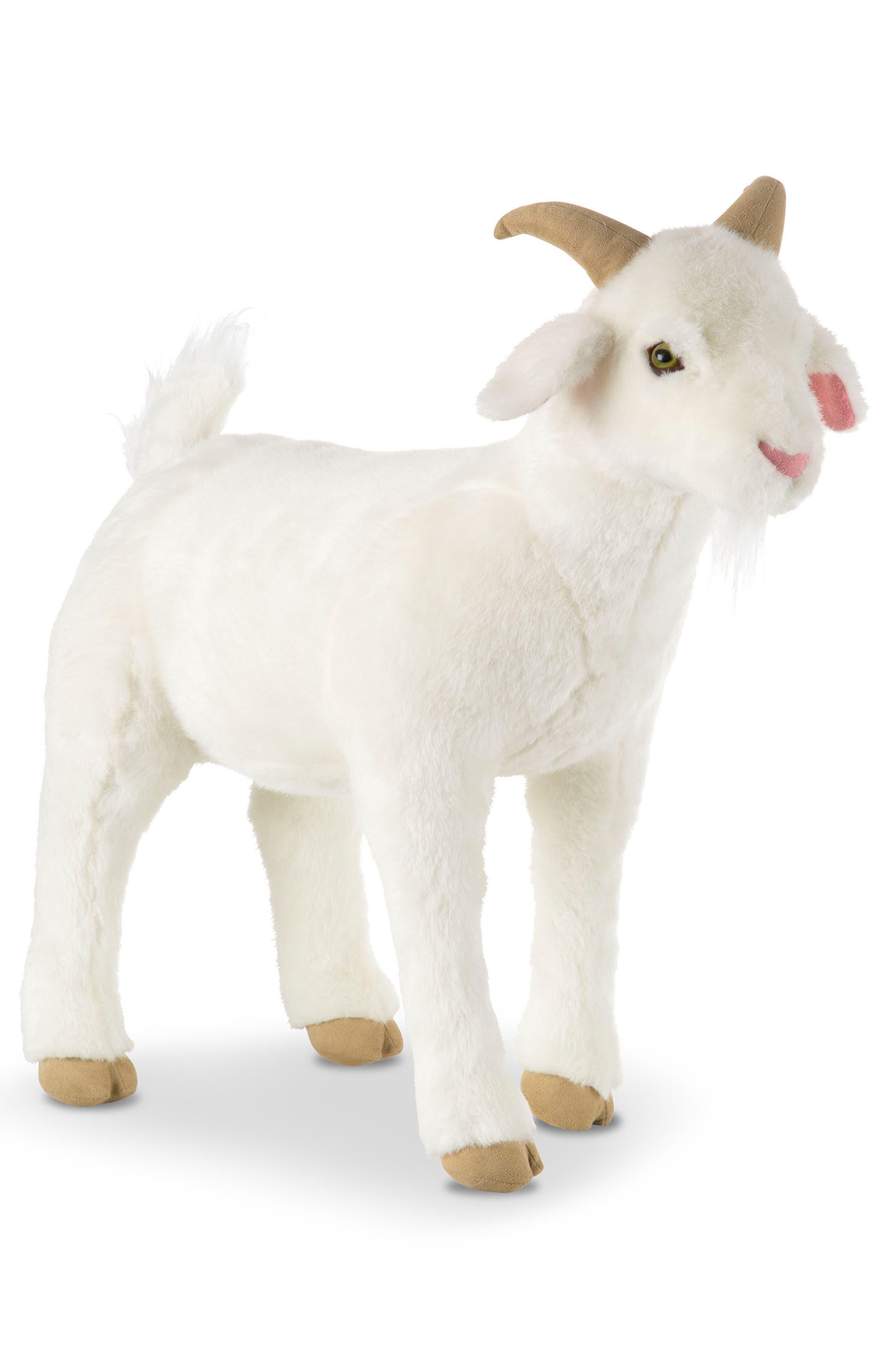 ,                             Giant Goat Plush Toy,                             Alternate thumbnail 3, color,                             WHITE MULTI