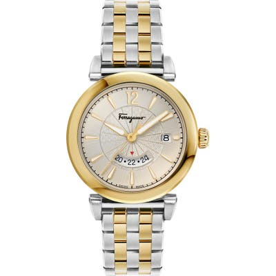 Salvatore Ferragamo Feroni Bracelet Watch, 40Mm