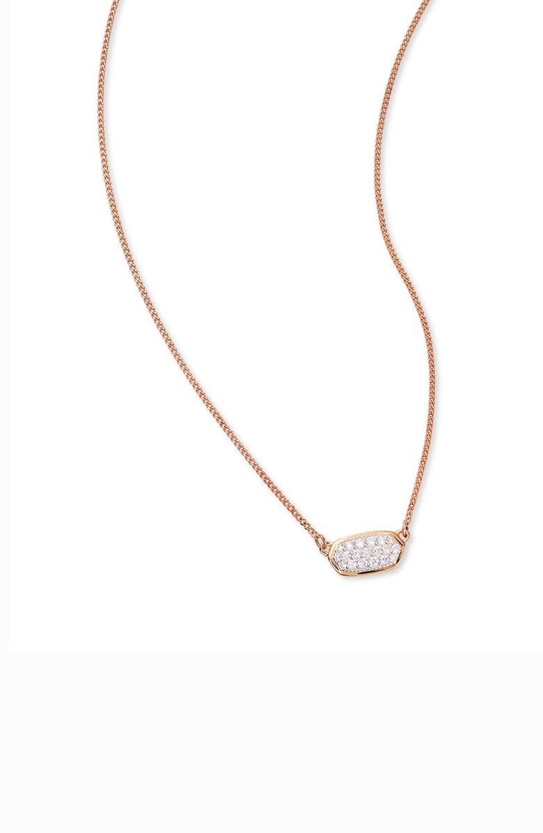 e9fdf907de81a Kendra Scott Lisa Diamond & Gold Pendant Necklace | Nordstrom