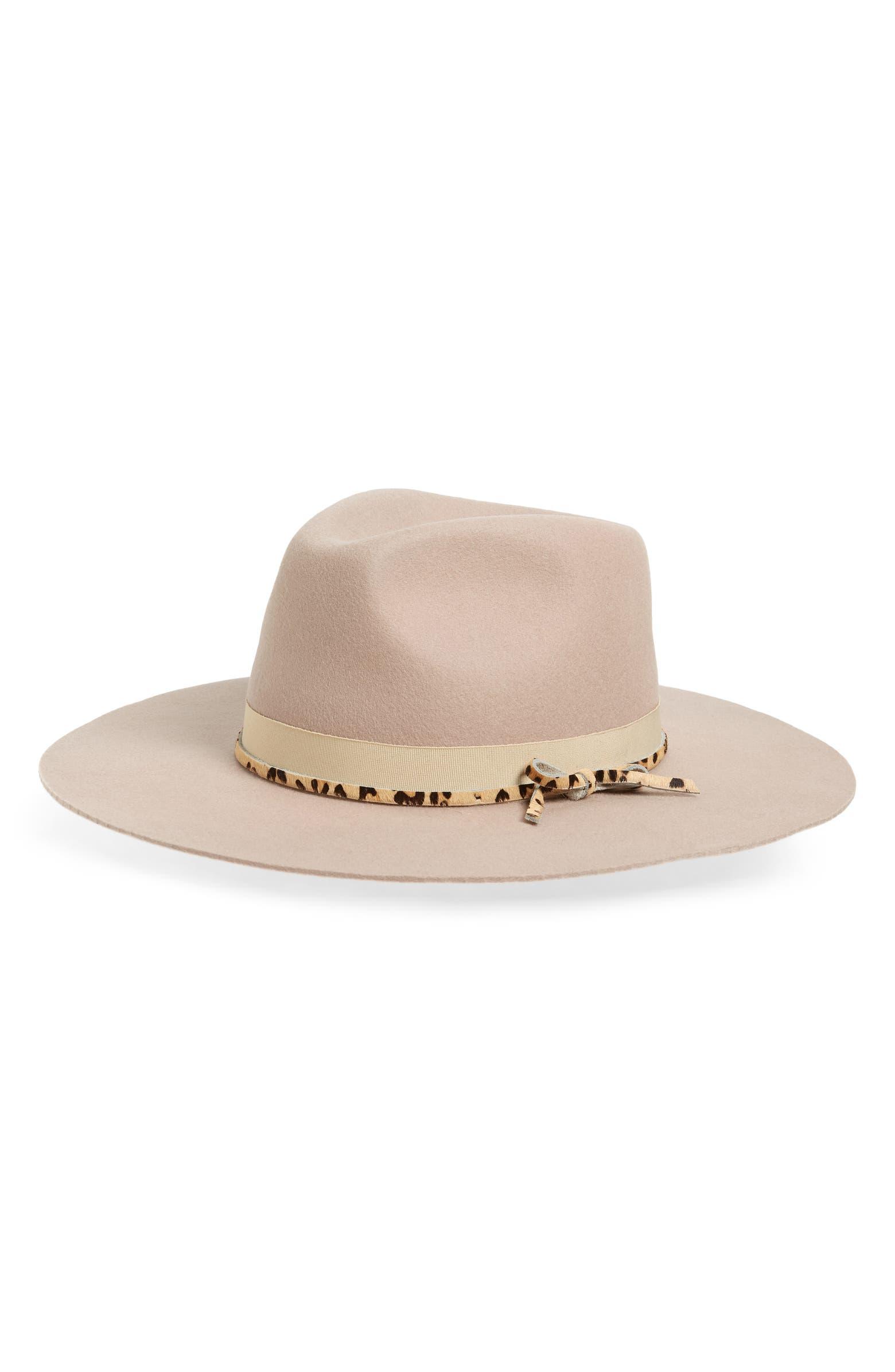 Nelson High Crown Wool Hat NOAKE