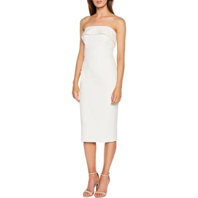 Bardot Georgia Strapless Dress, Ivory