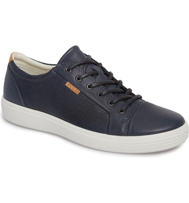 ECCO Soft 7 Perf Sneaker, Main, color, 407