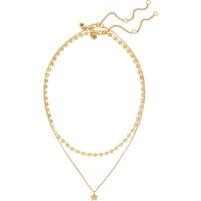 Madewell Set Of 2 Star Necklaces