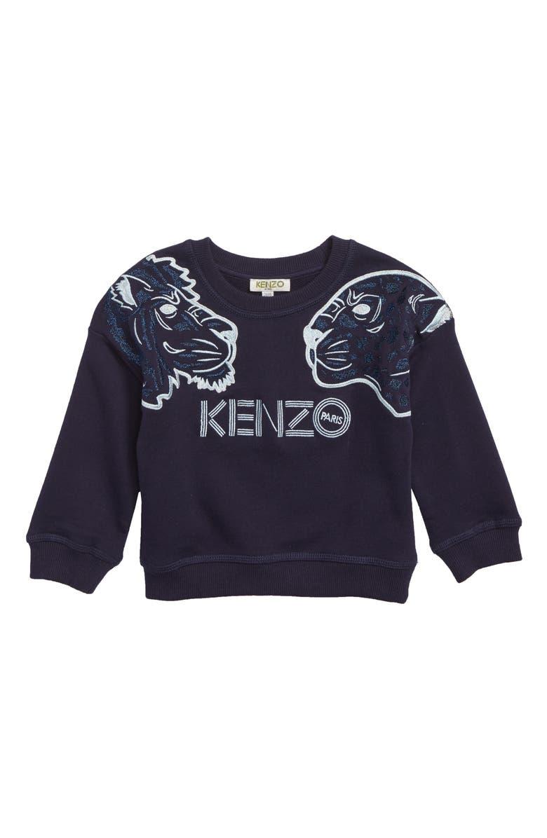 KENZO Tigers Sweatshirt Toddler Girls Little Girls Big Girls