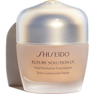 Shiseido Future Solution Lx Total Radiance Foundation Broad Spectrum Spf 20 Sunscreen - Rose 4