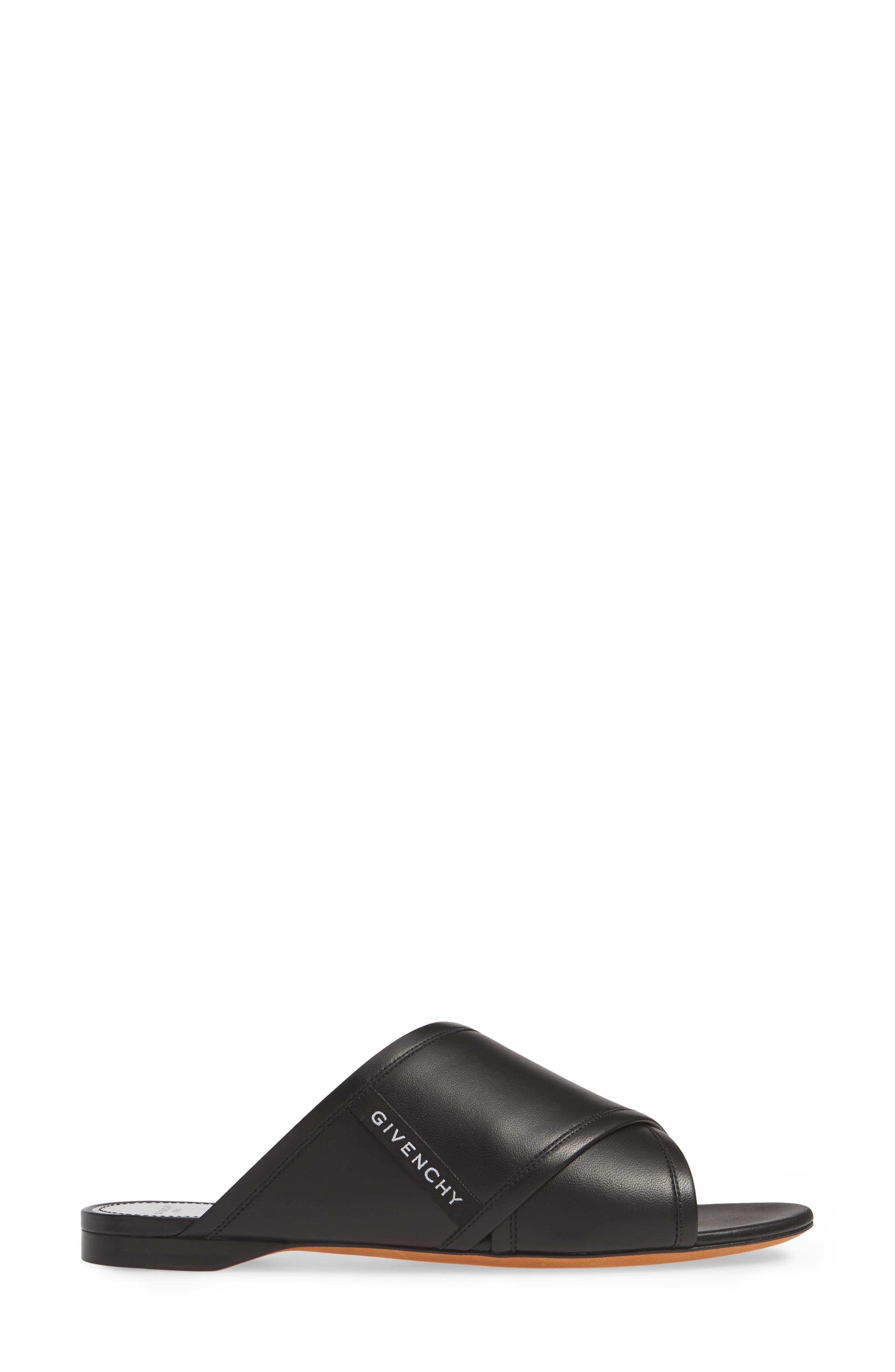 ,                             Rivington Crisscross Sandal,                             Alternate thumbnail 3, color,                             BLACK